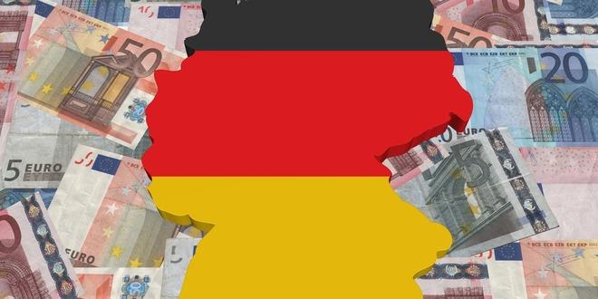 النشاط الخدمي، ألمانيا، اليورو