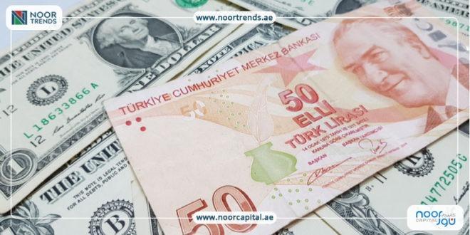 الليرة التركية ، أسعار العملات، الدولار الأمريكي