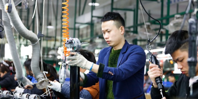 الصين، النشاط الصناعي، مصانع الصين