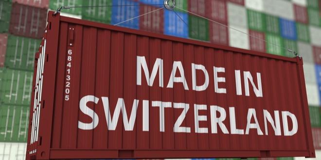 صادرات سويسرا، الميزات التجاري، الاقتصاد السويسري