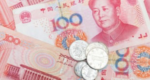 اليوان، السعر المرجعي، البنك الصيني