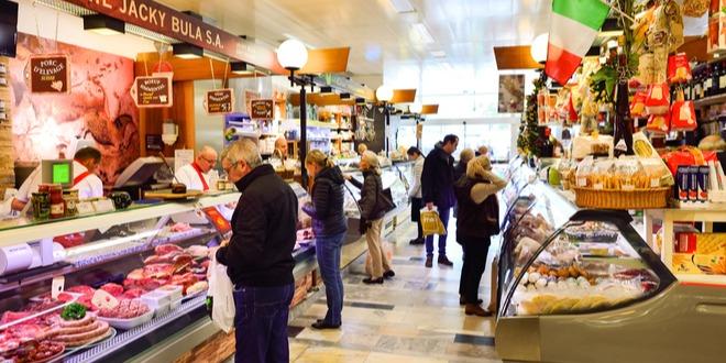 مبيعات التجزئة، إيطاليا، الإسترليني