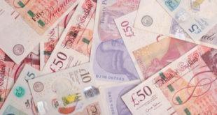 الجنيه الاسترليني، الدولار الأمريكي ، سلة العملات الرئيسية