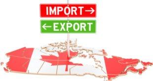 صادرات كندا، الميزان التجاري، الدولار الكندي