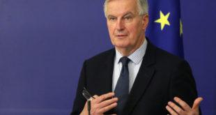 ميشيل بارنييه، البريكست، الاتحاد الأوروبي