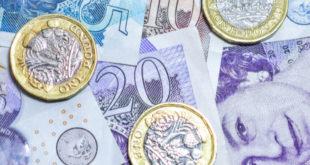 اقتراض القطاع العام، المملكة المتحدة، الجنيه الإسترليني