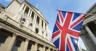 بنك إنجلترا، الفائدة، الإسترليني