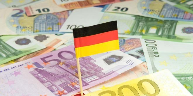 الاقتصاد الألماني، اليورو، الناتج المحلي
