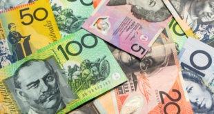 اقتصاد أستراليا، فائض الميزان التجاري، الدولار الأسترالي