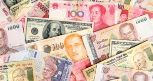 العملات الأساسية، الدولار الأمريكي، اليورو
