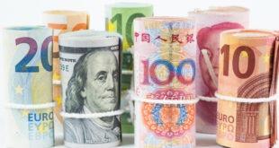 الين الياباني، الفوركس، الدولار الأمريكي