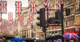 النشاط الخدمي، بريطانيا، الجنيه الإسترليني