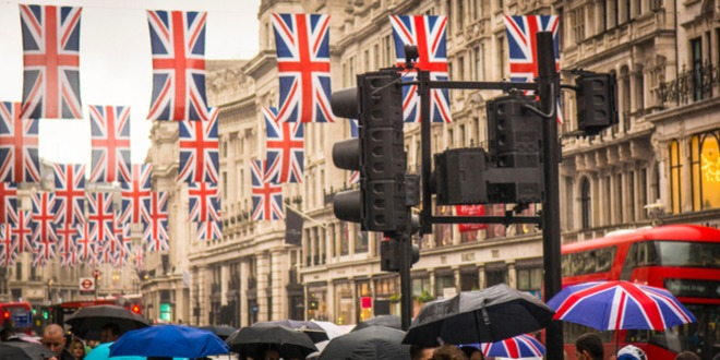 بريطانيا، الرهون العقارية، الاسترليني
