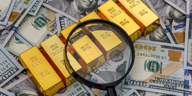الذهب، أسواق السلع، الدولار