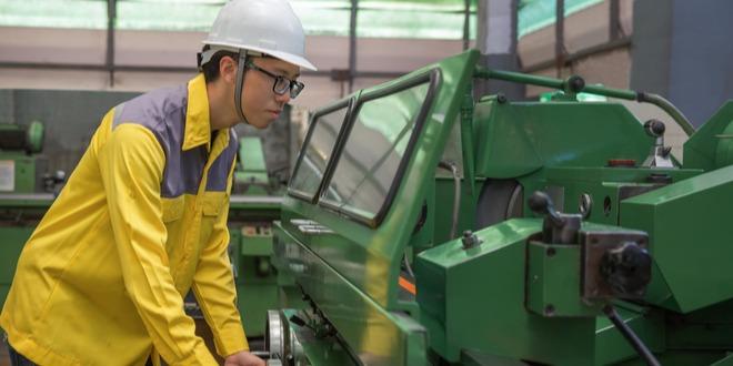 الإنتاج الصناعي، اليابان، الين