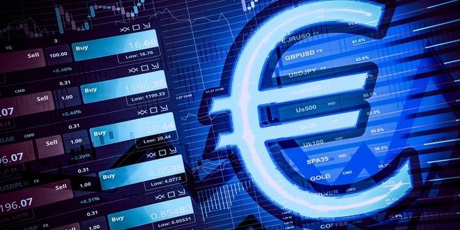 منطقة اليورو، الميزان التجاري، اليورو