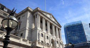 بنك إنجلترا، الفائدة، الجنيه الاسترليني