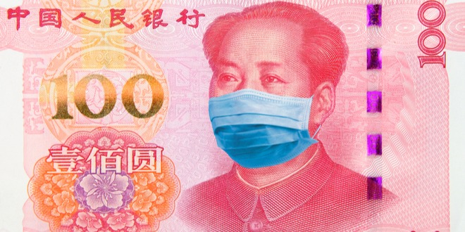 فيروس كورونا، العملات، الصين، اليوان