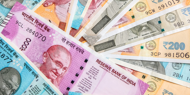 المركزي الهندي، الفائدة، الروبية