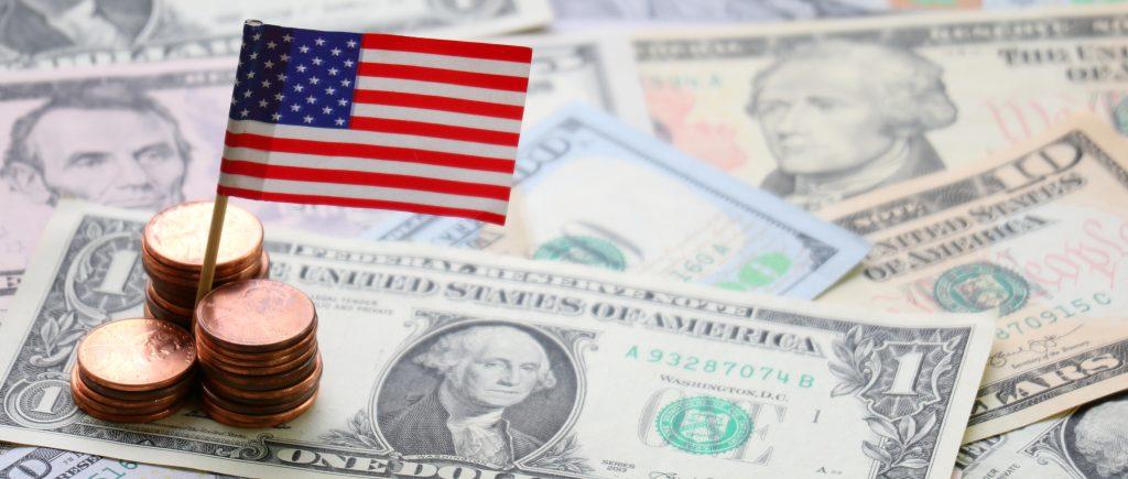 الإنفاق الشخص، الولايات المتحدة، الدولار