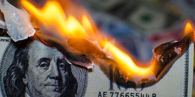 الإنفاق الشخصي، الدخل، الدولار