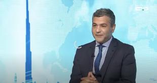 لقاء محمد حشاد : شاشة دبي الأولى