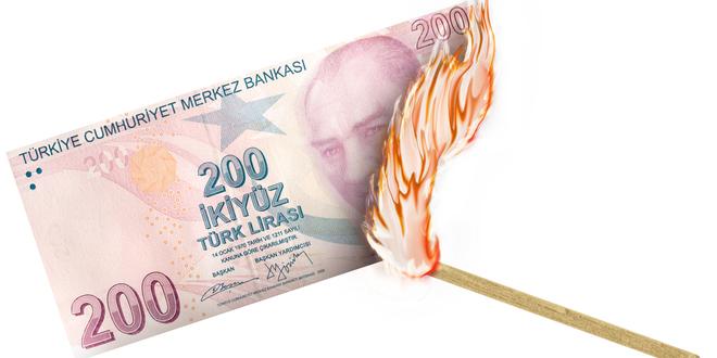 الليرة التركية العملة الناشئة الأسوأ أداءًا في 2020