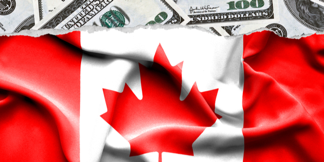 الدولار كندي يتخلى عن مسيرته السلبية بفضل ضعف الدولار