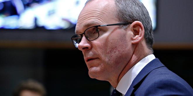 وزير الخارجية الإيرلندي: أمام بريطانيا والاتحاد الأوروبي من 7 إلى 10 أيام للتوصل لاتفاق