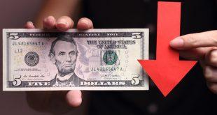 الدولار الأمريكي، فيروس كورونا