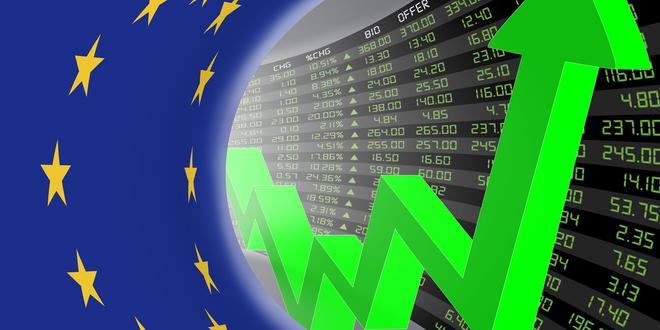 الأسهم الأوروبية تقفز لأعلى مستوى لها في أسبوعين