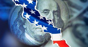 مؤشر الدولار، الاقتصاد الأمريكي ، الولايات المتحدة