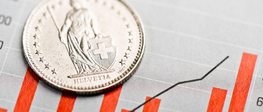 الفرنك السويسري يسجل أعلى مستوى له في 6 سنوات!