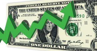 مؤشر الدولار يقفز بفضل حزمة تحفيز بايدن