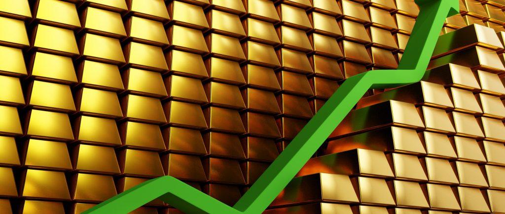 أسعار الذهب تتلون بالأحمر مع ارتفاع عوائد الخزانة الأمريكية