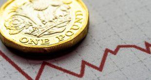 الجنيه الاسترليني يتلون بالأحمر بعد بيانات الناتج المحلي الإجمالي