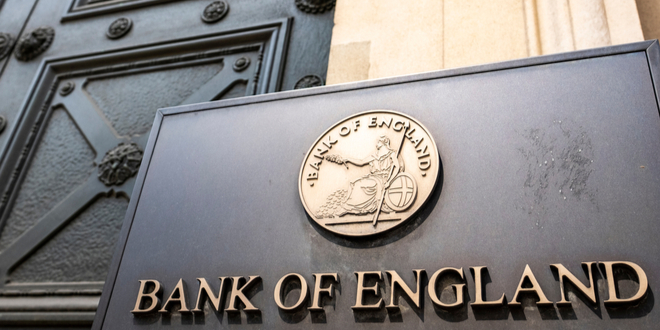 بنك إنجلترا يٌبقي على سعر الفائدة